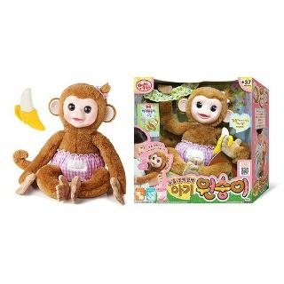 [베이비펫] 눈을 깜빡깜빡 아기원숭이  - [미미월드] 미미완구 총 모음전리틀미미/엔젤이/똘똘이/백설공주미미/베이비펫