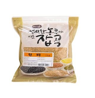 [슈퍼마트] 현미 1kg 1개