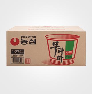 [슈퍼마트]농심 무파마 큰사발 112g*16입