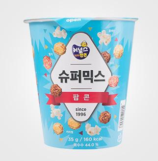 [슈퍼마트]커널스팝콘 뉴슈퍼믹스 컵 35g
