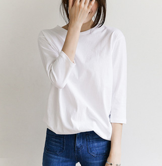 [24mg] 쿼터 티셔츠