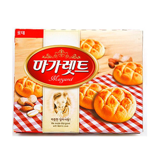 [슈퍼마트]마가렛트(롯데제과)342g