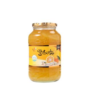 [수능응원][슈퍼마트]꽃샘 꿀유자차S 1kg