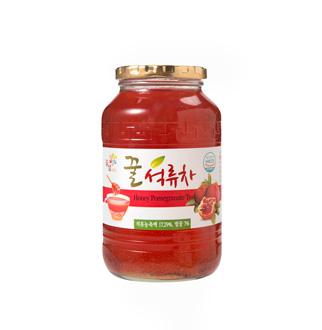 [슈퍼마트]꽃샘 꿀석류차 1kg