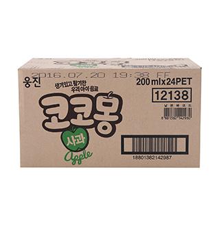 [슈퍼마트]웅진 코코몽 사과200mlX24펫