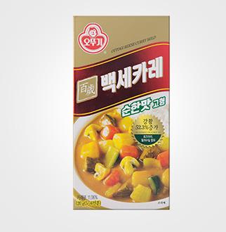 [슈퍼마트]오뚜기 백세카레 고형 순한맛 120g