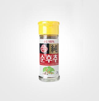 [슈퍼마트]오뚜기 순후추 병 20g