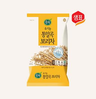 [슈퍼마트]샘표 순작 유기농 통알곡보리차 500g