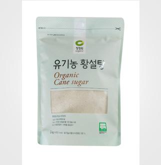 [슈퍼마트]청정원 유기농 황설탕 1kg