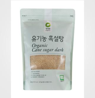 [슈퍼마트]청정원 유기농 흑설탕 1kg
