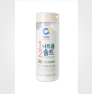 [슈퍼마트]청정원 나트륨1/2솔트 220g