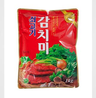 [슈퍼마트]청정원 쇠고기감치미 1kg