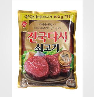 [슈퍼마트]청정원 쇠고기진국다시1.1kg