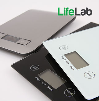 LifeLab 디지털주방저울+적외선온도계