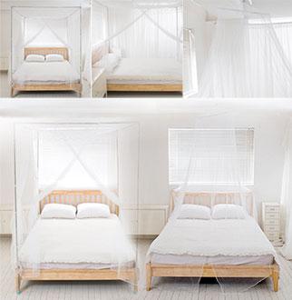 여름필수! 침대/원형캐노피 모기장