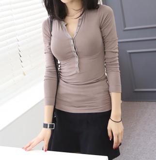 [다니러브]팰리단추티셔츠