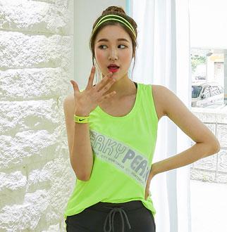 [더심쿵] 메쉬 배색 민소매 티셔츠