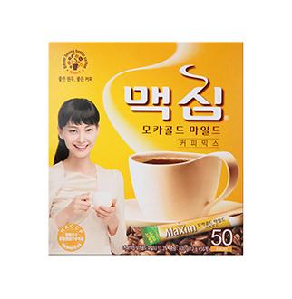 [슈퍼마트] 맥심 모카골드 커피믹스 50T