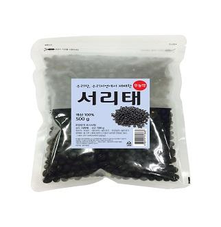 [슈퍼마트]롯데상사 무농약 서리태 500g