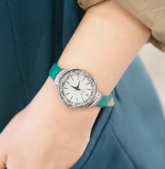 [폭스타일]피넛 가죽 시계