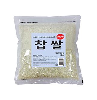 [슈퍼마트] 롯데상사 무농약 찹쌀 1kg