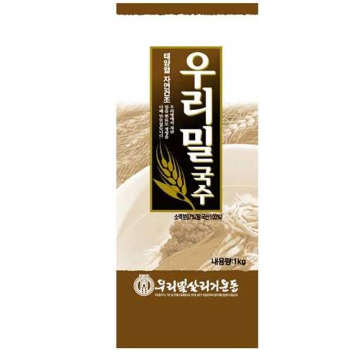 [슈퍼마트]칠갑농산 우리밀국수 1kg*1개
