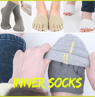 [에코리즈] 발가락 양말 이너삭스