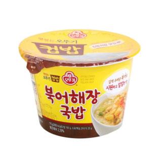 [슈퍼마트]오뚜기 맛있는 컵밥 북어해장국밥 175g