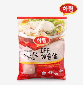 [슈퍼마트] 역대가 하림 가슴살 1kg(냉동)