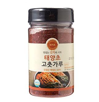 [슈퍼마트]국내산 태양초 고춧가루(김치용) 150g