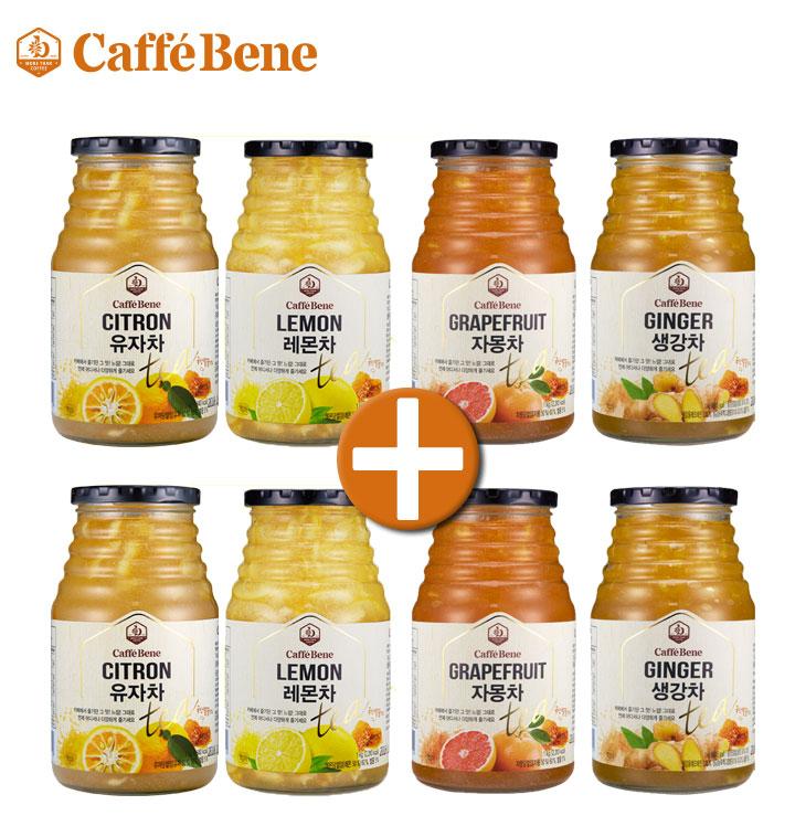 유자/레몬/자몽/생강차