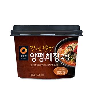 [슈퍼마트] 청정원 양평해장국밥 89.5g