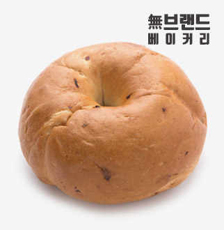 無브랜드 시나몬레이즌 베이글 100g*6