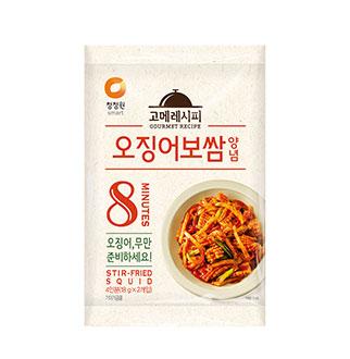 [슈퍼마트] 청정원 오징어보쌈양념*2개