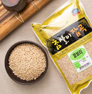 [슈퍼마트] 푸른곳간 쌀보리 1kg