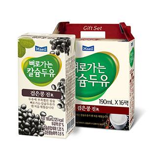 [슈퍼마트]매일 뼈로가는 칼슘두유 검은콩 진 190ml 16개