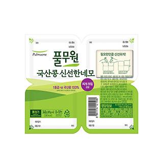 [슈퍼마트]풀무원국산콩 신선한네모4입