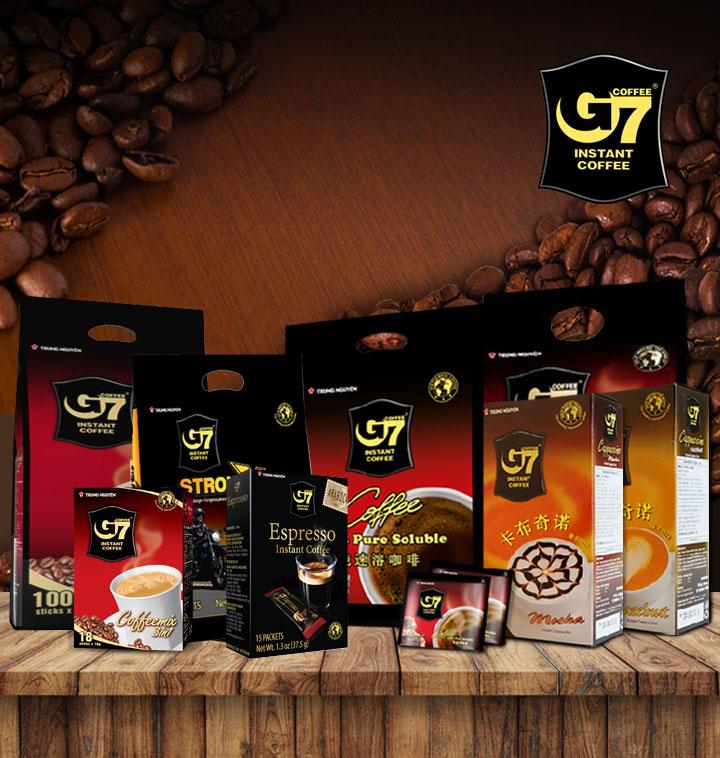 [수출용] 베트남 G7 커피 모음전