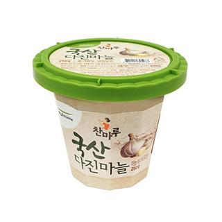 [슈퍼마트] 풀무원 국산 다진마늘 250g