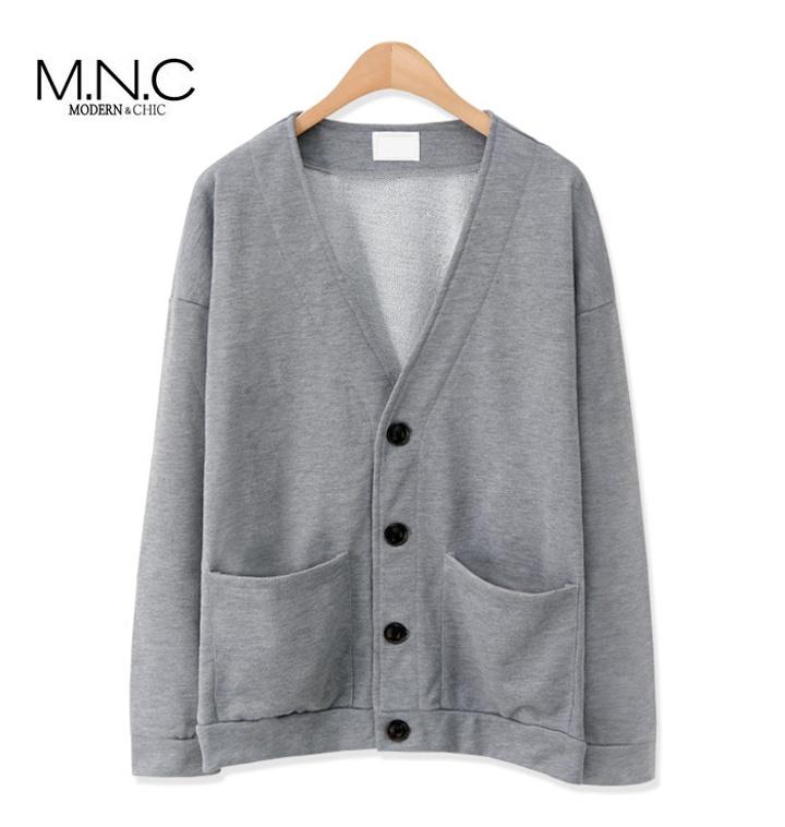 [MNC] 맨즈 쭈리 가디건 (MDCD601SL)