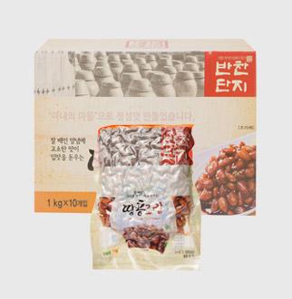 [대용량] 땅콩조림 1kg * 10입