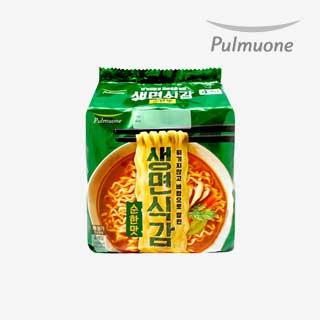 [슈퍼마트]풀무원 생면식감 순한맛97.4g * 4입(멀티)