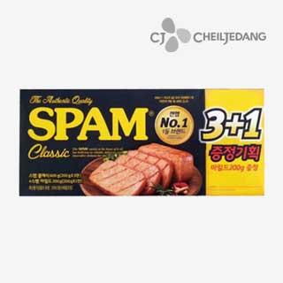 [슈퍼마트]CJ 스팸 클래식200g 3입 + 마일드200g 1입