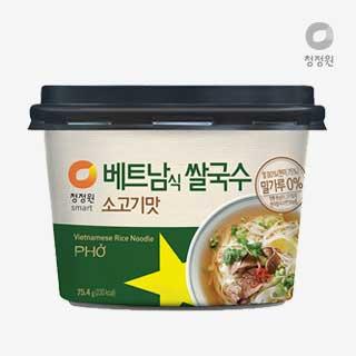 [슈퍼마트] 청정원 베트남쌀국수 소고기맛 75.4g