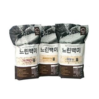 [슈퍼마트] 느린백미 10kg 3종 모음