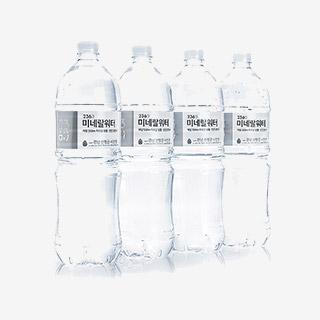 [슈퍼마트][티몬 단독] 236 미네랄워터2L x 12병