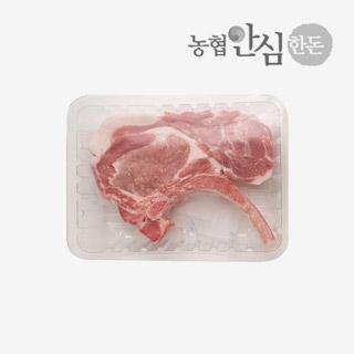 [슈퍼마트]냉장 허브한돈 본인립아이 500g 1등급 암퇘지 (스테이크용)