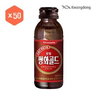 [티몬균일가] 광동쌍화골드 100ml*50병