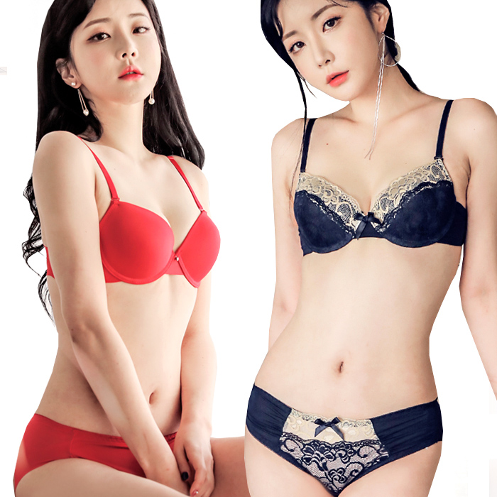 A~D컵/노와이어/팬티/예쁜속옷SALE