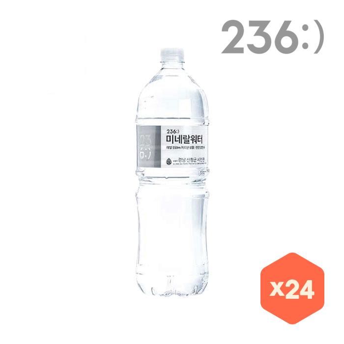 [대용량] 236:) 미네랄워터 2L x 24병